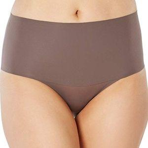 SPANX SP0215 Undie-Tectable Brief Panty Umber Ash
